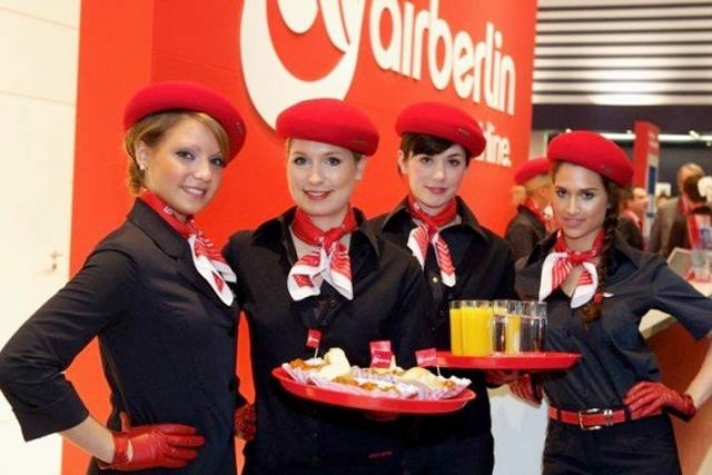 air berlin air hostess germany aviator flight. Black Bedroom Furniture Sets. Home Design Ideas