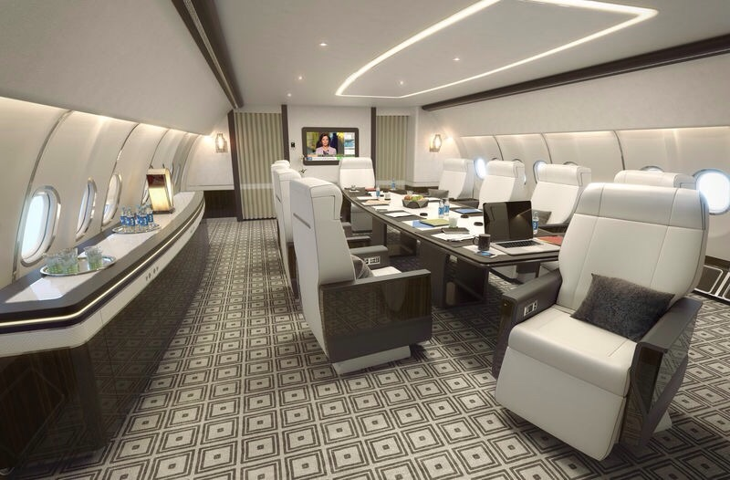 Airbus launches new VIP Cabin