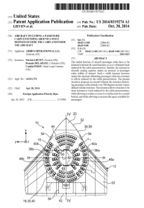 Aircraft Patent by Airbus