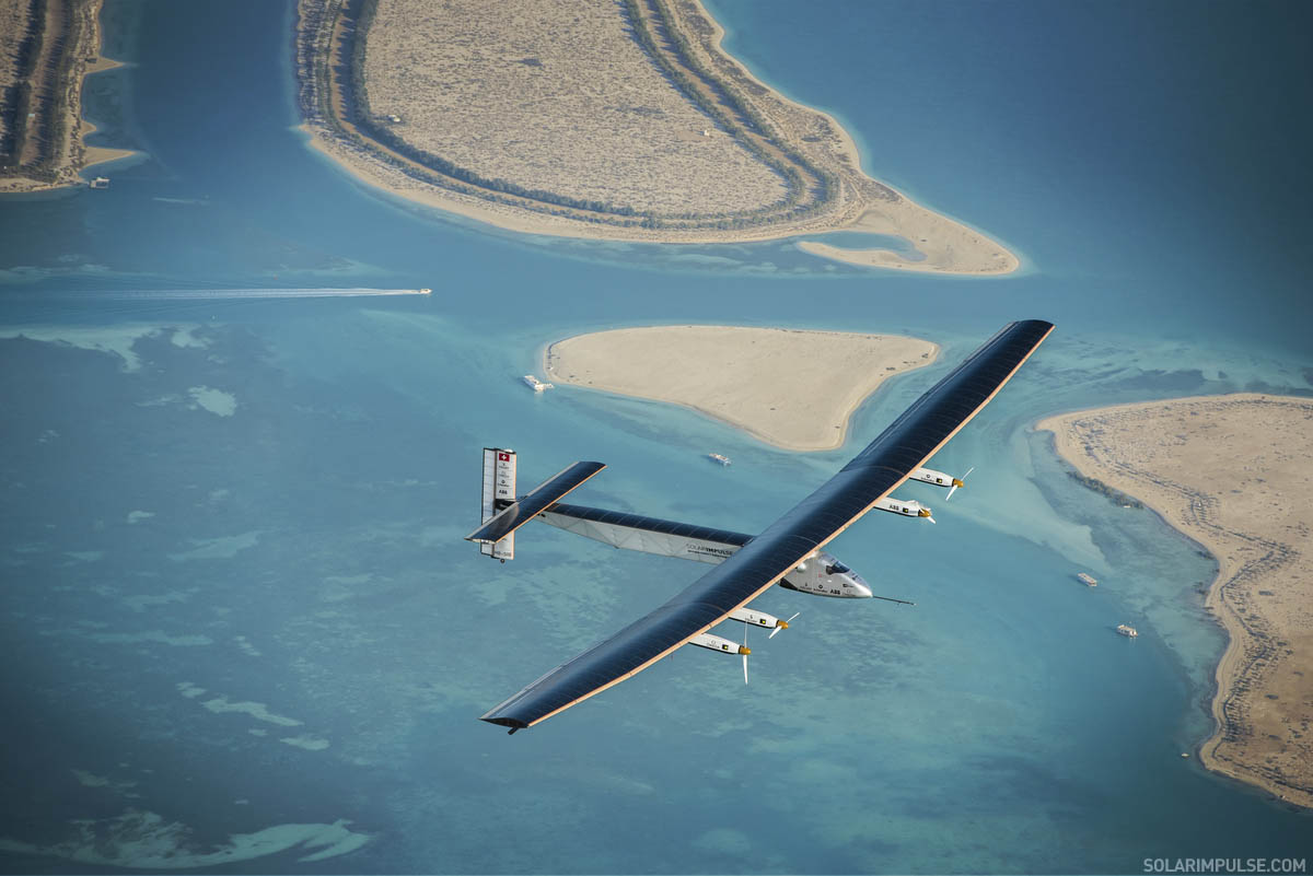First Attempt to fly around the world with zero fuel on Solar Impulse