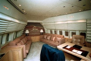 Interior of Air Force One