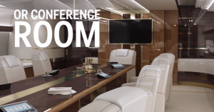 Conference Room of Air Force One