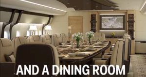 Dinning Room inside Air Force One