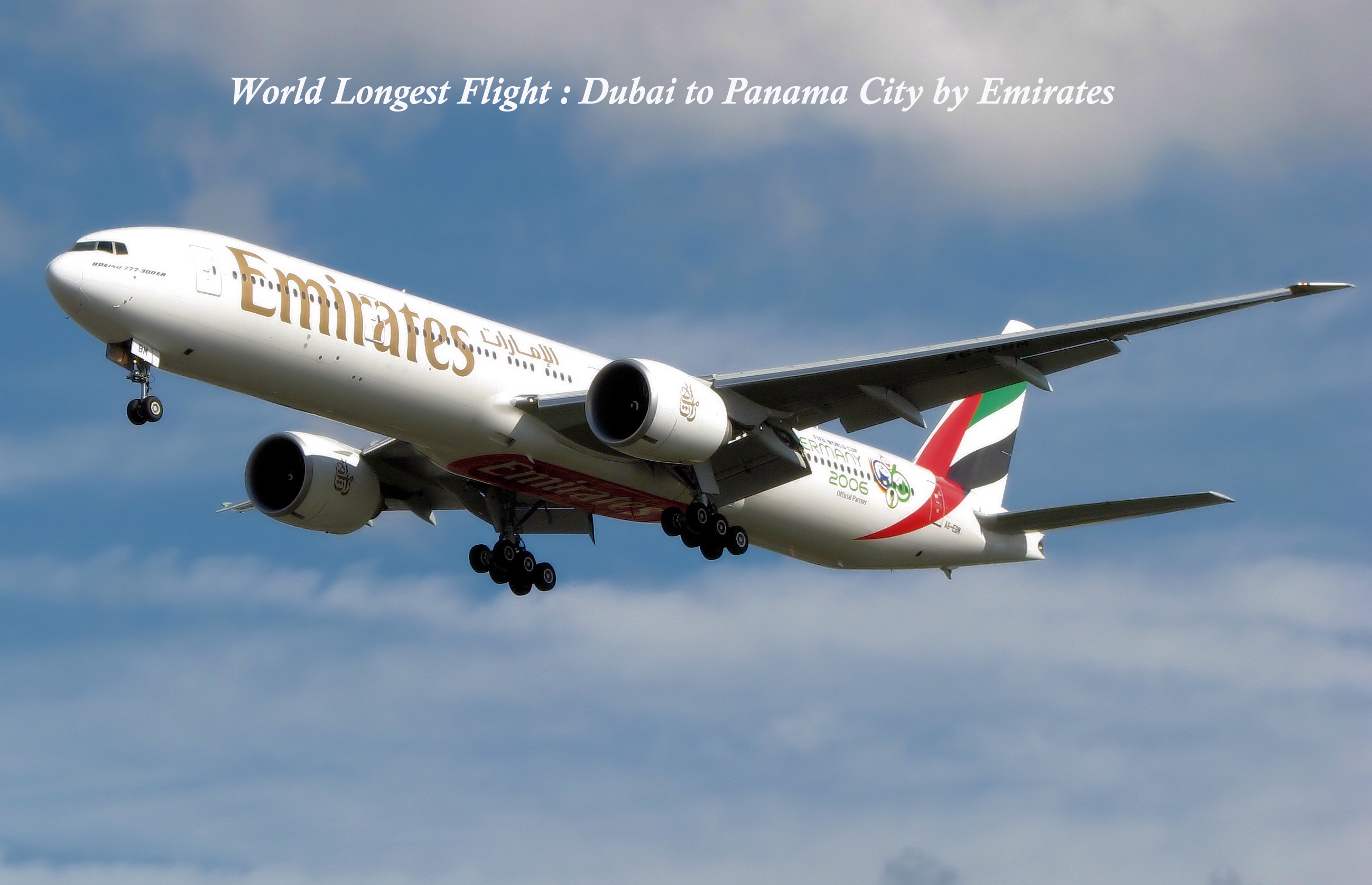 World's Longest Flight by Emirates