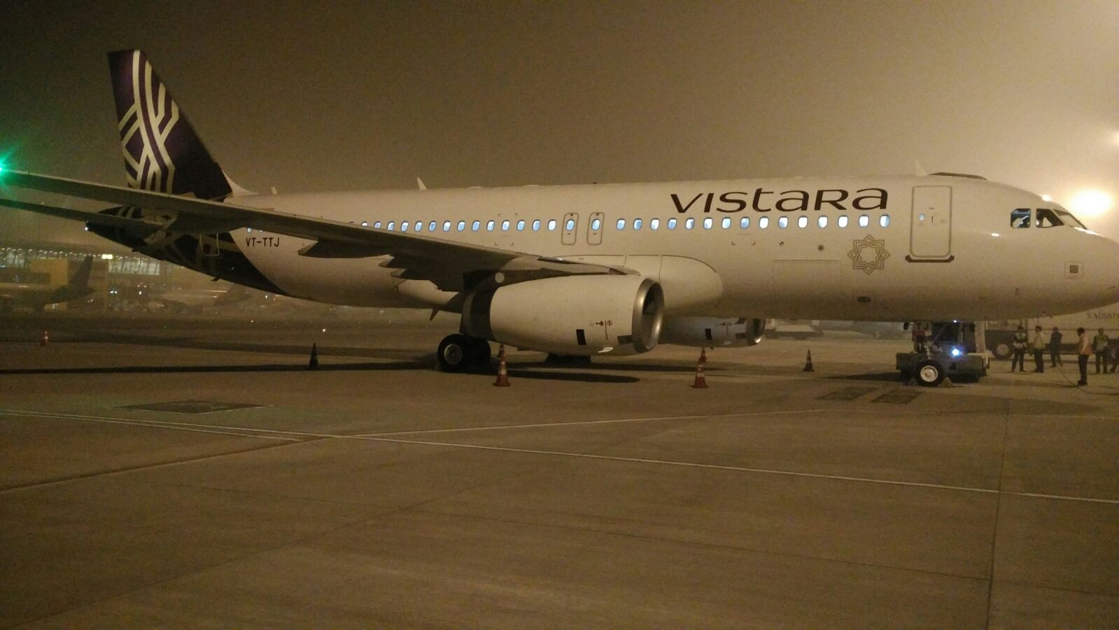 9th A-320 of Vistara Airlines