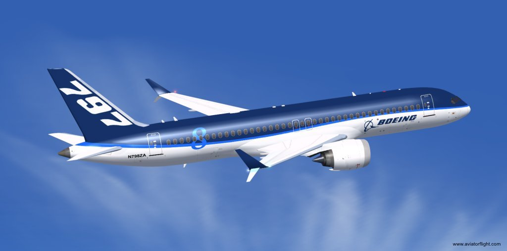 Boeing 797 Aircraft : Check out the first look