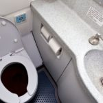 Toilet waste in planes