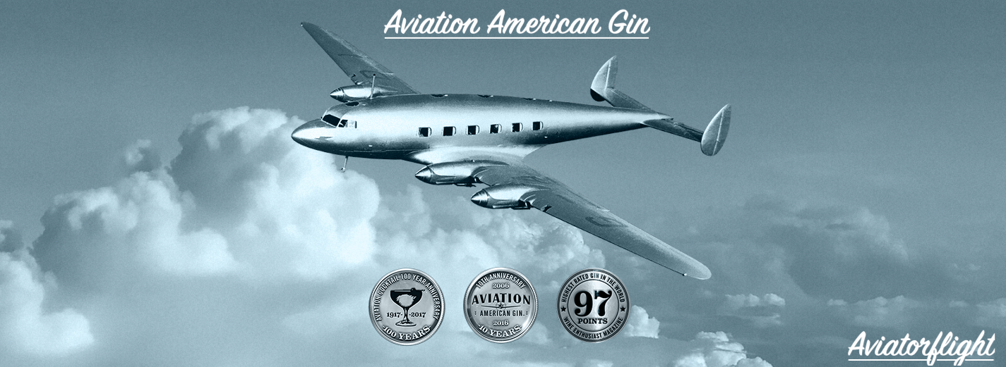 Aviation American Gin- So Smooth that it can fly solo